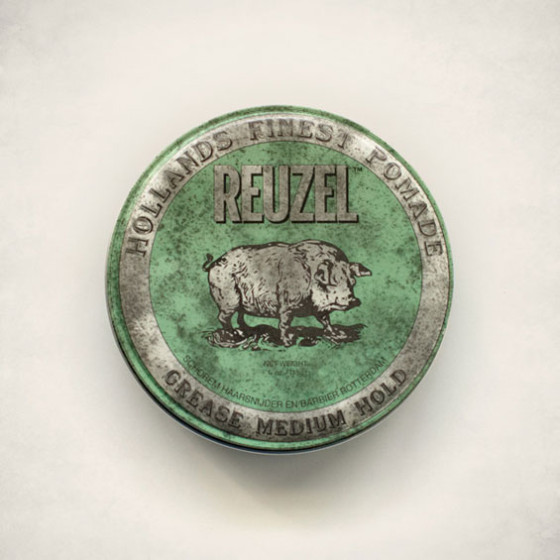 Reuzel-Medium-Hold-Grease-Green-Mr-Chop-Shop-Deluxe-Barber-Sydney