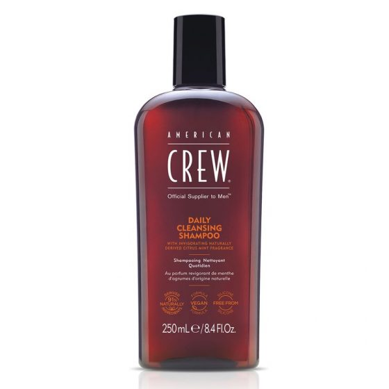 american crew daily cleansing shampoo 250ml
