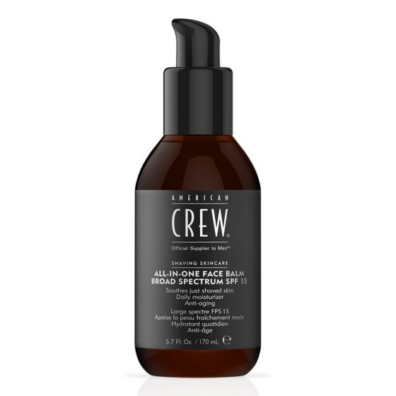 american crew all in one face balm spf 15 70ml