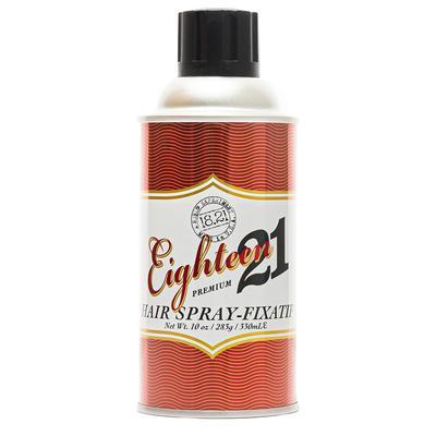18.21 man made sweet tobacco premium hairspray 283ml